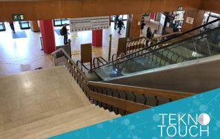trattamento antiscivolo Tekno Touch ospedale Reggio Emilia