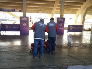 trattamento antiscivolo Tekno Touch Fiorentina