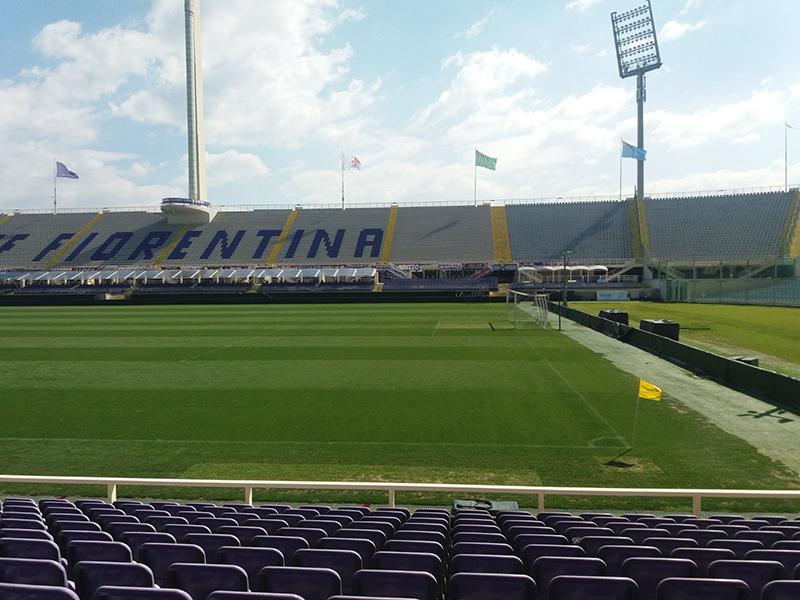 trattamento antiscivolo stadio Fiorentina