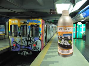 Ector CR-9 antigraffiti news