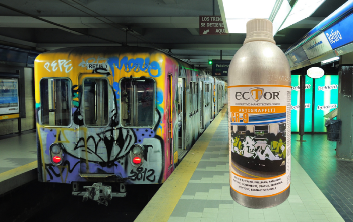 Ector CR-9 antigraffiti news